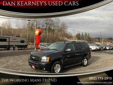 2011 Chevrolet Tahoe for sale at DAN KEARNEY'S USED CARS in Center Rutland VT