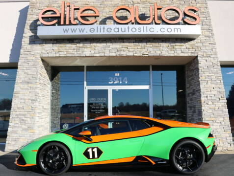 2020 Lamborghini Huracan for sale at Elite Autos LLC in Jonesboro AR