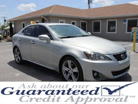 2011 Lexus IS 250 for sale at Universal Auto Sales in Plant City FL