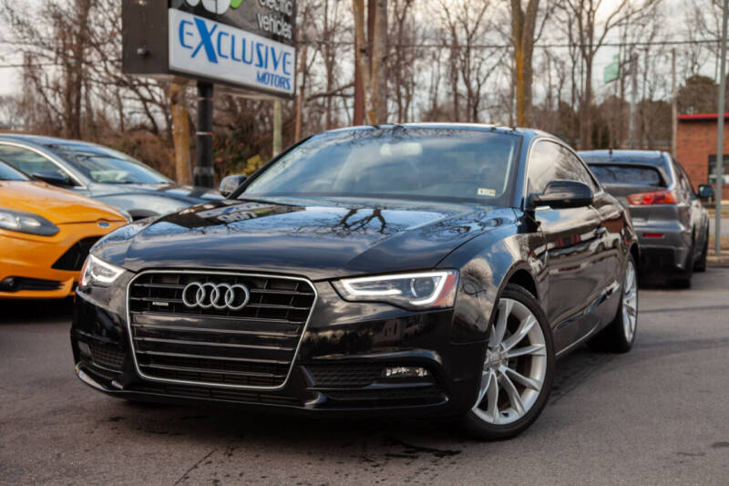 2013 Audi A5 for sale at EXCLUSIVE MOTORS in Virginia Beach VA