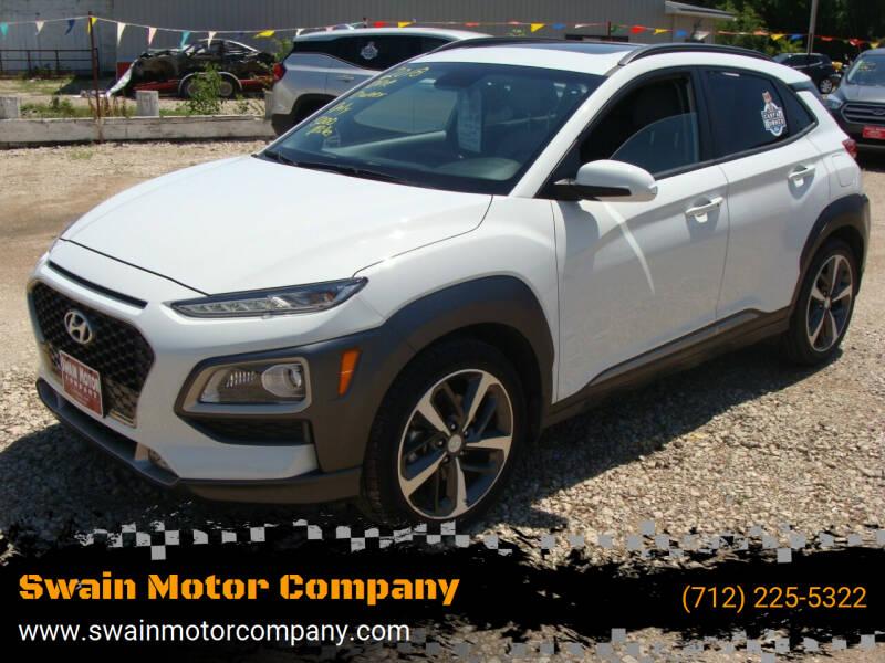 2018 Hyundai Kona for sale at Swain Motor Company in Cherokee IA