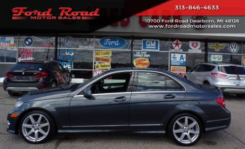 2014 Mercedes-Benz C-Class for sale at Ford Road Motor Sales in Dearborn MI