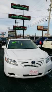 2008 Toyota Camry for sale at Boardman Auto Mall in Boardman OH