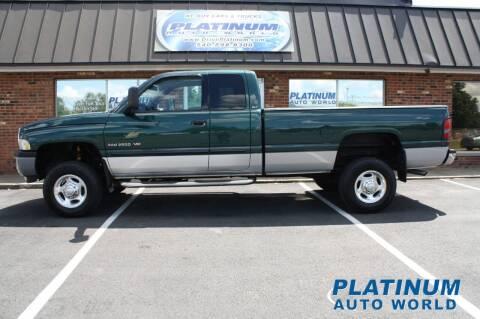 2002 Dodge Ram Pickup 2500 for sale at Platinum Auto World in Fredericksburg VA
