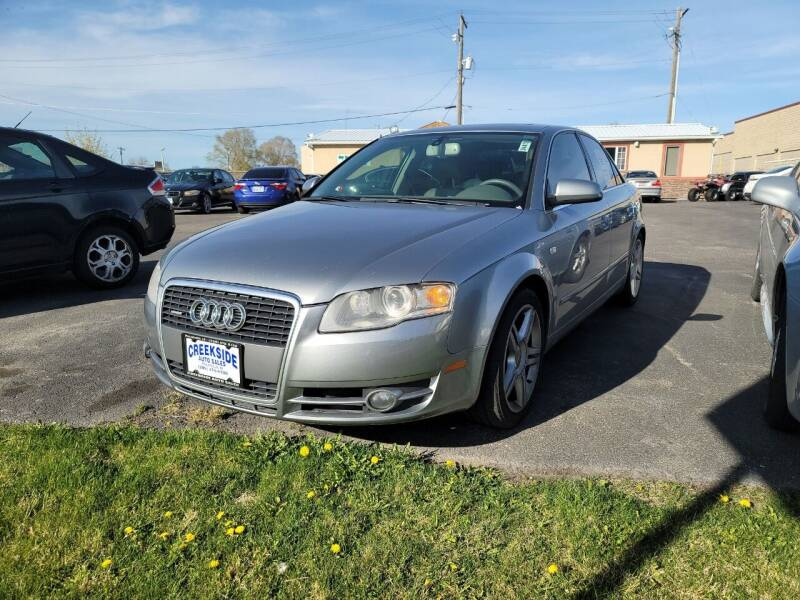 2007 Audi A4 for sale at Creekside Auto Sales in Pocatello ID