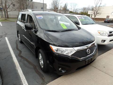 2012 Nissan Quest for sale at CAR CORNER RETAIL SALES in Manchester CT