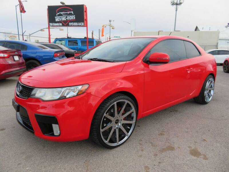 2012 Kia Forte Koup for sale at Moving Rides in El Paso TX