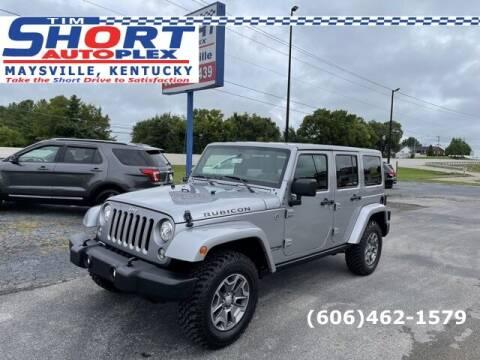 2018 Jeep Wrangler JK Unlimited for sale at Tim Short Chrysler in Morehead KY