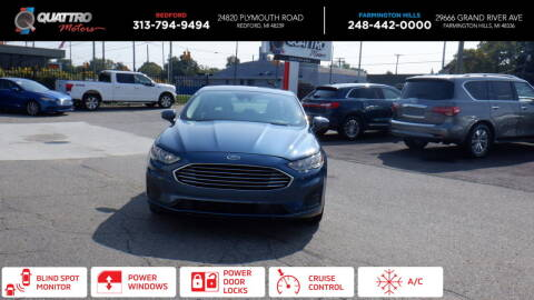 2019 Ford Fusion Hybrid for sale at Quattro Motors 2 - 1 in Redford MI