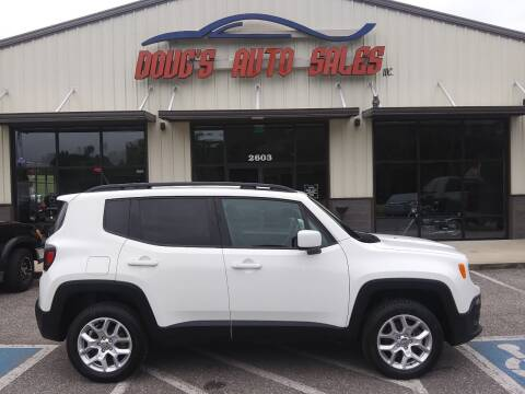 2017 Jeep Renegade for sale at DOUG'S AUTO SALES INC in Pleasant View TN