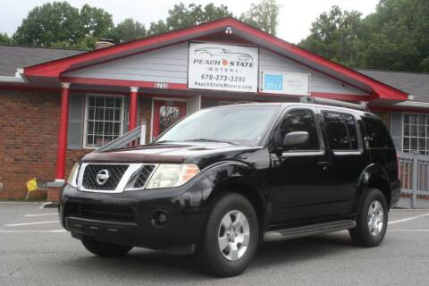 2010 Nissan Pathfinder for sale at Peach State Motors Inc in Acworth GA