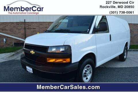 2019 Chevrolet Express Passenger for sale at MemberCar in Rockville MD