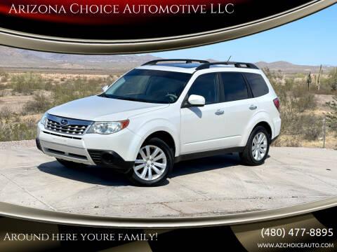 2011 Subaru Forester for sale at Arizona Choice Automotive LLC in Mesa AZ