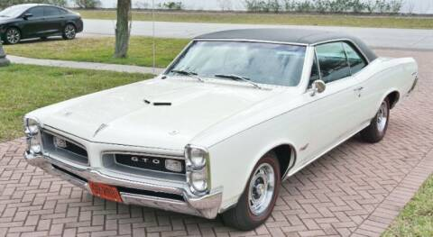 1966 Pontiac GTO for sale at Classic Car Deals in Cadillac MI