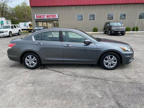 2012 Honda Accord for sale at Ramsey Motors in Riverside MO
