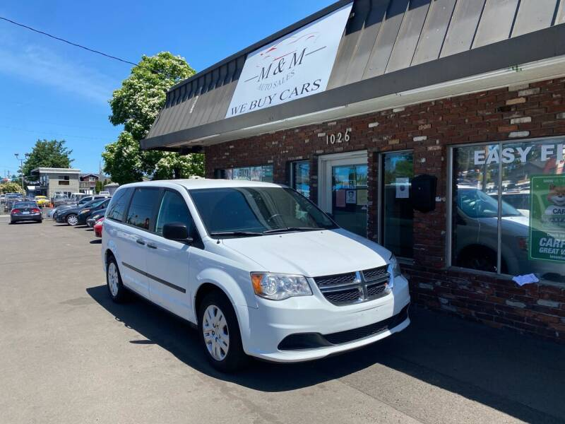 2015 Dodge Grand Caravan for sale at M&M Auto Sales in Portland OR