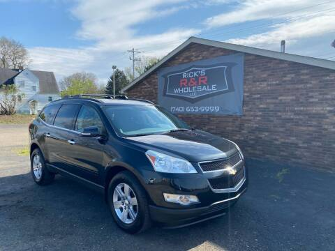 2012 Chevrolet Traverse for sale at Rick's R & R Wholesale, LLC in Lancaster OH