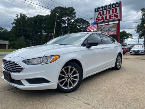 2017 Ford Fusion for sale at Carafello's Auto Sales in Norfolk VA