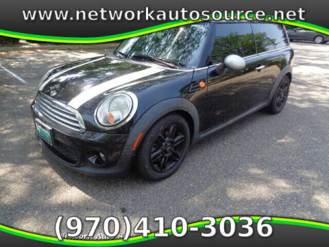 2012 MINI Cooper Clubman for sale at Network Auto Source in Loveland CO