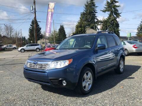 2009 Subaru Forester for sale at A & V AUTO SALES LLC in Marysville WA