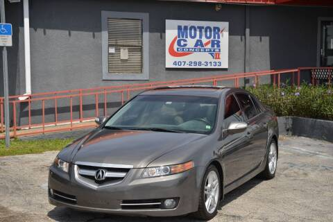 2007 Acura TL for sale at Motor Car Concepts II - Kirkman Location in Orlando FL