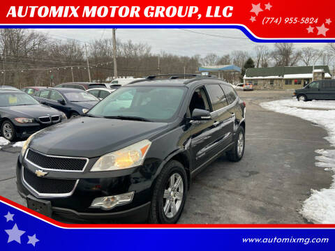 2009 Chevrolet Traverse for sale at AUTOMIX MOTOR GROUP, LLC in Swansea MA