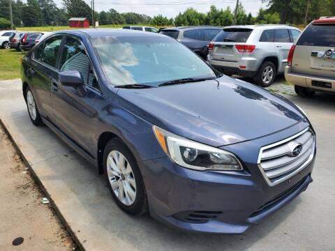 2015 Subaru Legacy for sale at Karas Auto Sales Inc. in Sanford NC