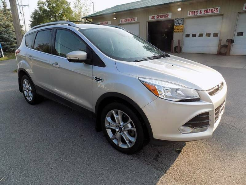 2014 Ford Escape for sale at SUMMIT TRUCK & AUTO INC in Akron NY
