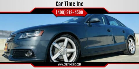 2009 Audi A4 for sale at Car Time Inc in San Jose CA