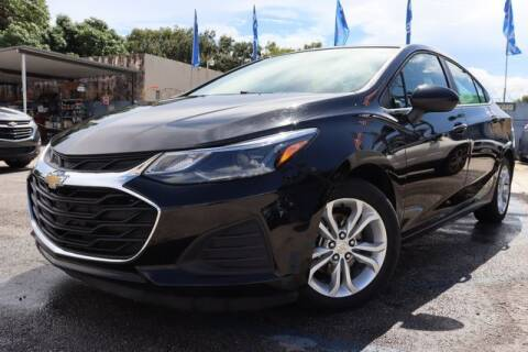 2019 Chevrolet Cruze for sale at OCEAN AUTO SALES in Miami FL