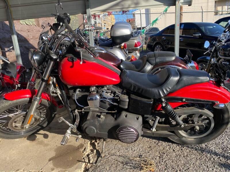 2015 Harley-Davidson FXDB STREET BOB for sale at E-Z Pay Used Cars in McAlester OK