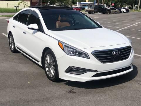2015 Hyundai Sonata for sale at Consumer Auto Credit in Tampa FL
