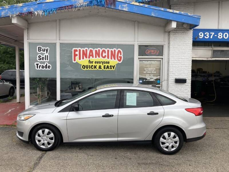 2015 Ford Focus for sale at AutoMotion Sales in Franklin OH