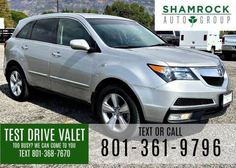 2010 Acura MDX for sale at Shamrock Group LLC #1 in Pleasant Grove UT