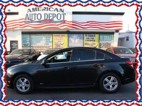 2014 Chevrolet Cruze for sale at American Auto Depot in Modesto CA
