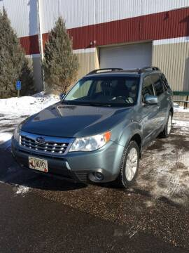 2013 Subaru Forester for sale at Specialty Auto Wholesalers Inc in Eden Prairie MN