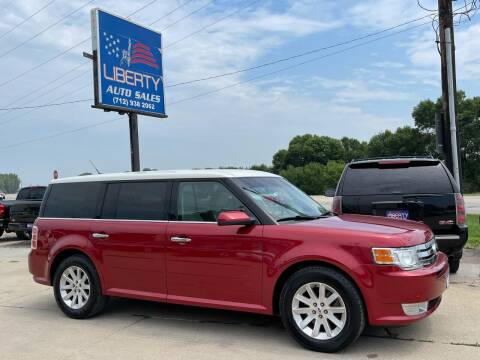 2009 Ford Flex for sale at Liberty Auto Sales in Merrill IA