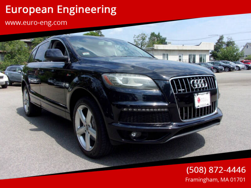 2011 Audi Q7 for sale at European Engineering in Framingham MA