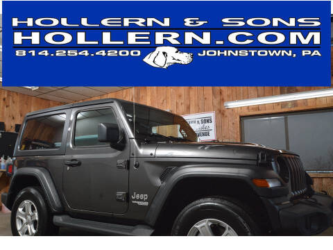2018 Jeep Wrangler for sale at Hollern & Sons Auto Sales in Johnstown PA