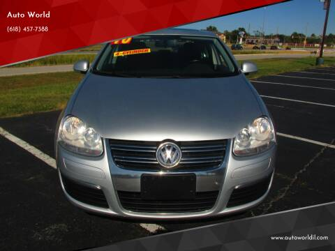 2010 Volkswagen Jetta for sale at Auto World in Carbondale IL