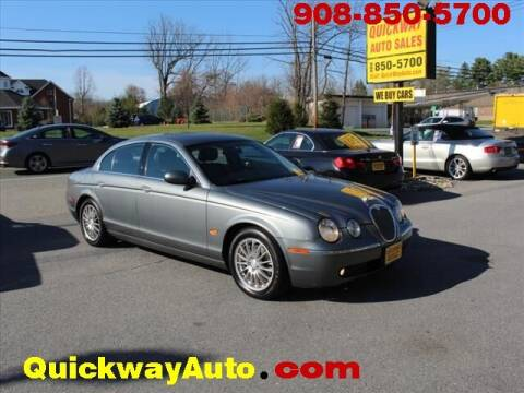 2006 Jaguar S-Type for sale at Quickway Auto Sales in Hackettstown NJ