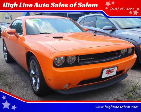 2014 Dodge Challenger for sale at High Line Auto Sales of Salem in Salem NH