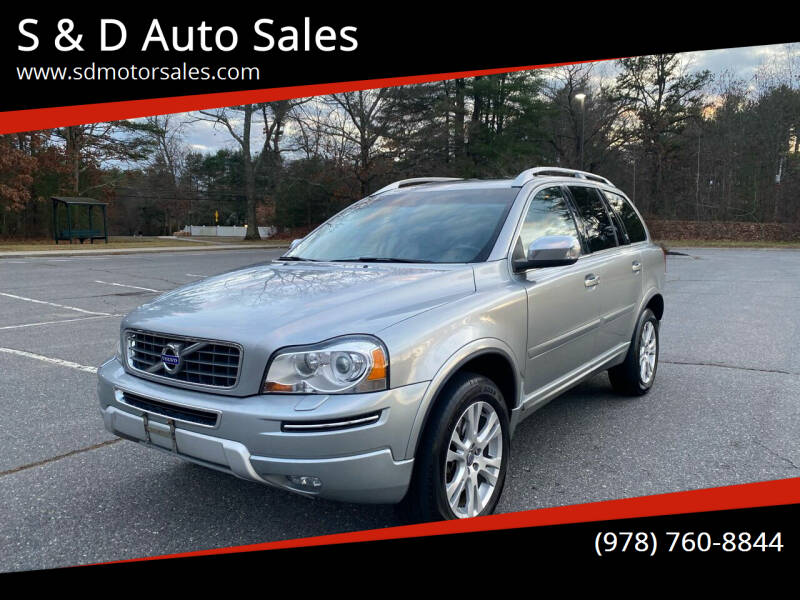 2013 Volvo XC90 for sale at S & D Auto Sales in Maynard MA