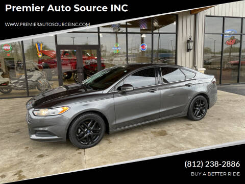 2016 Ford Fusion for sale at Premier Auto Source INC in Terre Haute IN