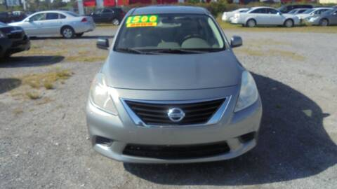 2012 Nissan Versa for sale at Auto Mart - Moncks Corner in Moncks Corner SC
