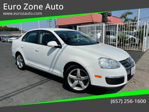 2010 Volkswagen Jetta for sale at Euro Zone Auto in Stanton CA