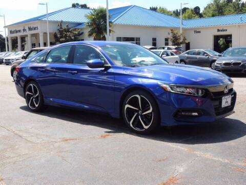 2019 Honda Accord for sale at Auto Finance of Raleigh in Raleigh NC