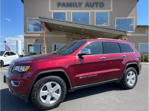2019 Jeep Grand Cherokee for sale at Moses Lake Family Auto Center in Moses Lake WA