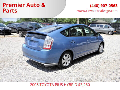 2008 Toyota Prius for sale at Premier Auto & Parts in Elyria OH