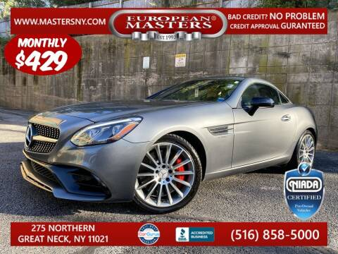 2018 Mercedes-Benz SLC for sale at European Masters in Great Neck NY